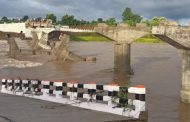 Before the launch, part of the bridge was washed away in rain water