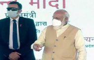PM Modi inaugurates 6 lane road in Varanasi
