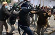 44 people arrested after violence on Singhu border