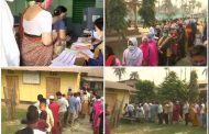 24.61 percent polling till 11 am, violent clashes in many areas