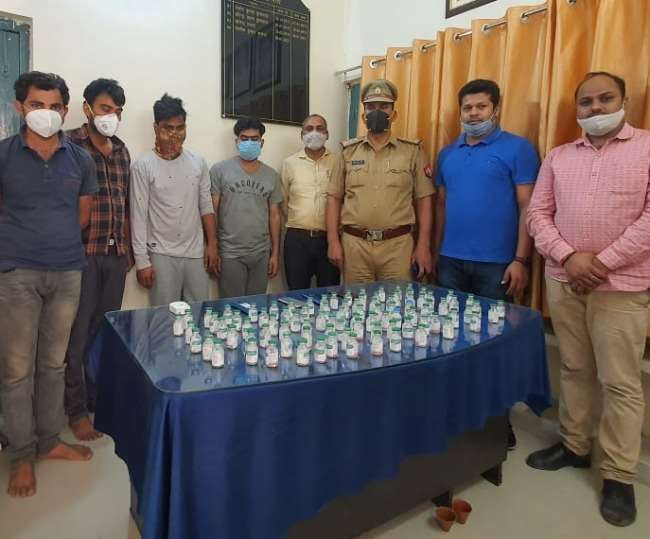10 medical staff arrested with fake Remedesivir injections in Lucknow