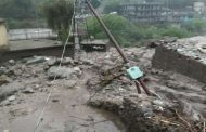 A cloudburst in the Binsar hill of Chamoli caused havoc, many houses, shops and vehicles buried under debris