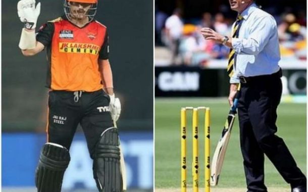 Scramble between David Warner and Michael Slater in the bar of Maldives! Both giants cleaned up