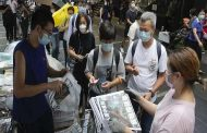 Copies of the final edition of the Apple Daily newspaper sold out in Hong Kong