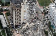 12-storey building collapsed in Florida, USA, screams of people buried under rubble
