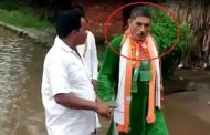 BJP MLAs were telling development, villagers made them walk in dirty water, reality shown