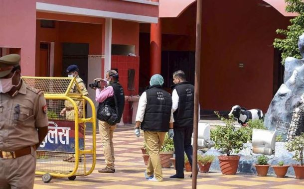 CBI repeats suicide scene in Baghambari Math