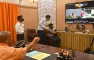 CM Yogi virtual unveils first prototype train of Kanpur and Agra Metro